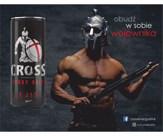 cross energy drink